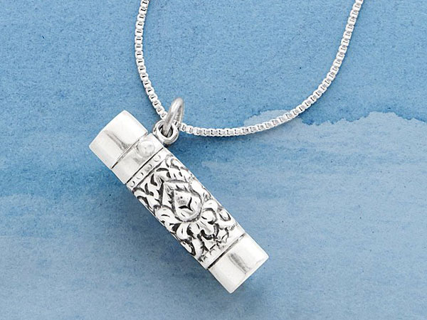 Silver Kaleidoscope Necklace