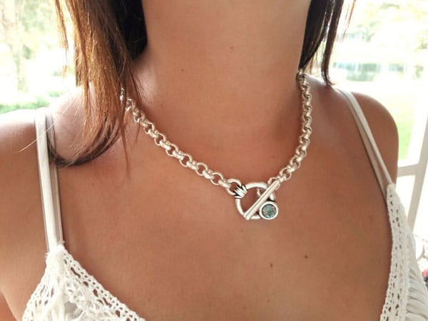 Swarovski Uno de 50 Style Chain Necklace