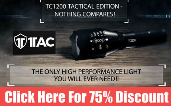 TC1200 Tactical Edition Flashlight