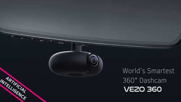 VEZO 360 Degree Smart Dash Cam