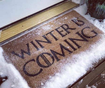 Winter is Coming Doormat
