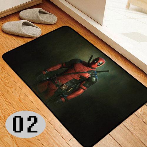 Deadpool Bedroom Doormat
