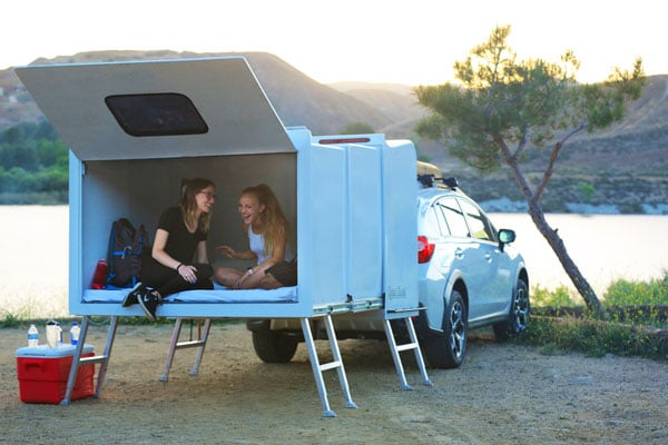Hitch Hotel Expandable Camper Trailer
