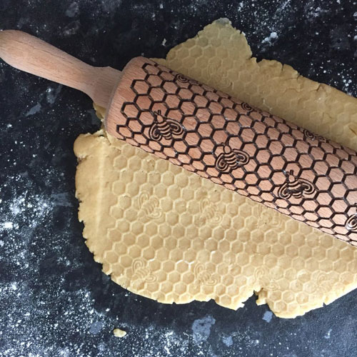 Honey Bees Rolling Pin