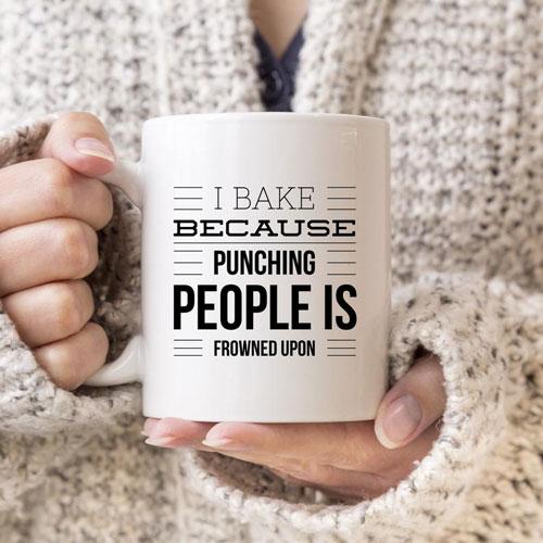 Humorous Baker Mug