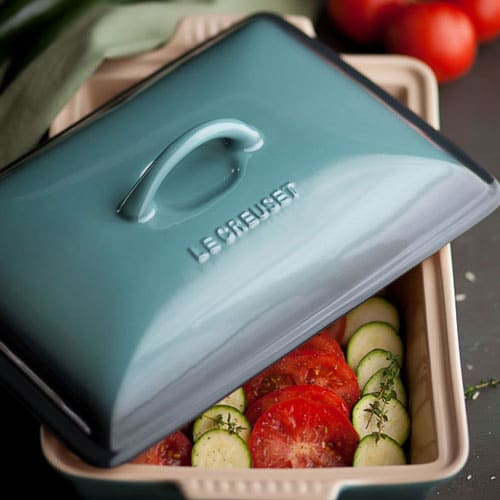 Le Creuset Stoneware Rectangular Heritage Covered Casserole