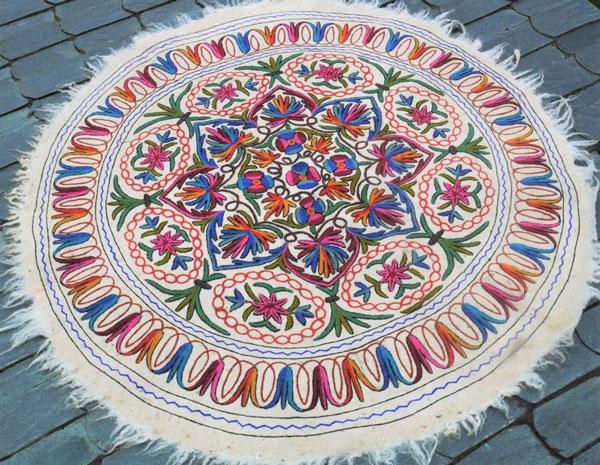 Round Mandala Rug