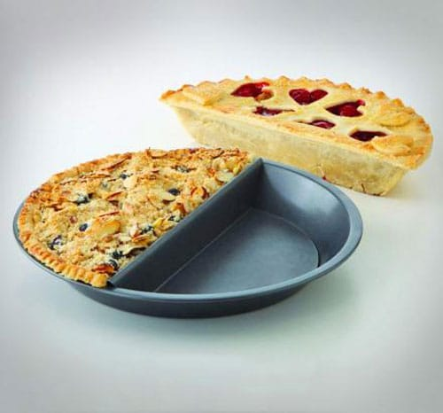 Split-Decision Pie Pan