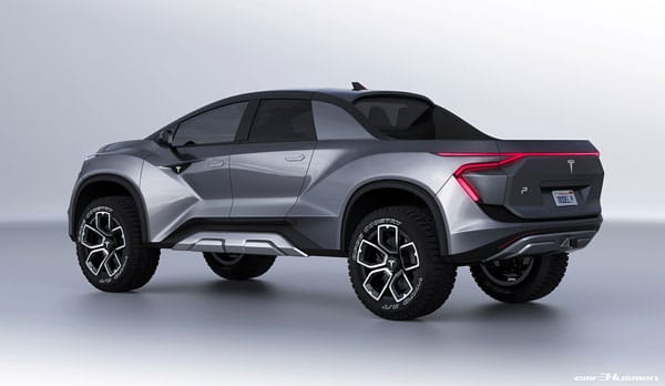 Tesla's All-Electric Pickup Truck - Concept