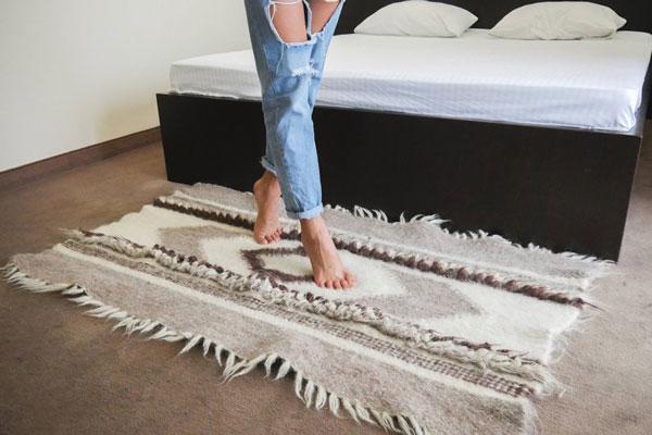 Wool Scandinavian Nordic Carpet Rug