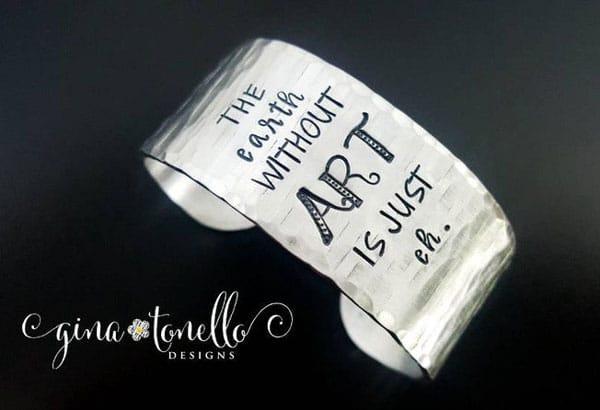 Artist Cuff Bracelet
