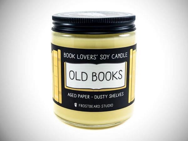 Book Nerd Candle