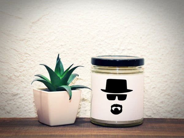 Breaking Bad Walter White Inspired Candle