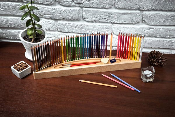 Colored Pencils Holder - gifts for artists