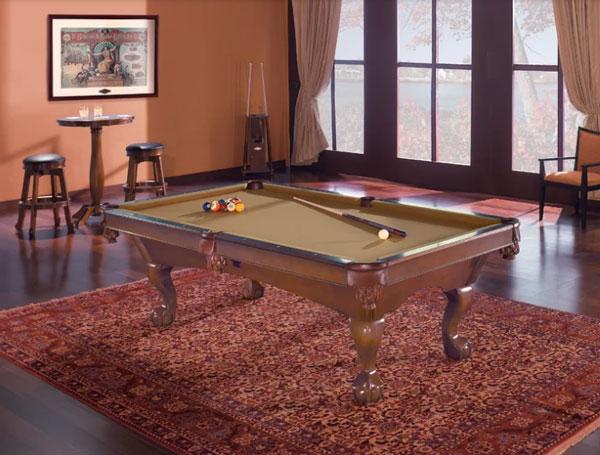 Glen Oaks Billiards 8.3' Slate Pool Table