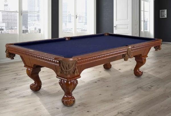 King George 8' Slate Pool Table