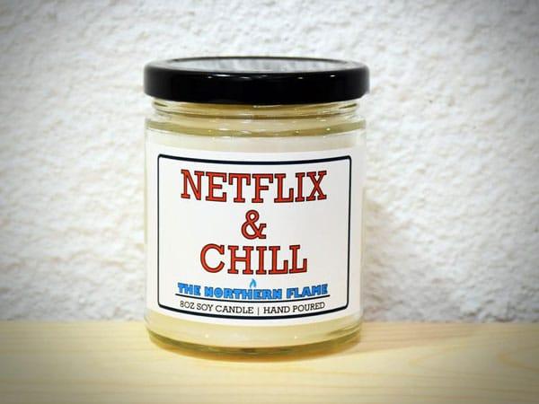 Netflix & Chill Candle