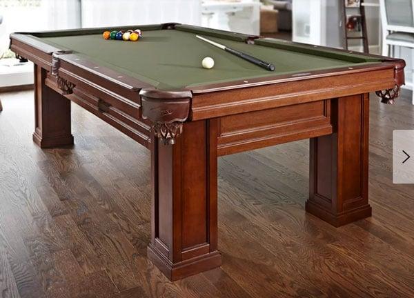 Oak Hill Billiards 8.3' Slate Pool Table