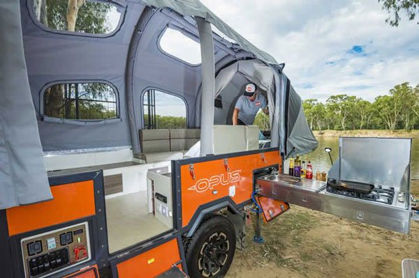 Opus Expandable Camper
