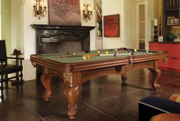 Santini 8.5' Slate Pool Table