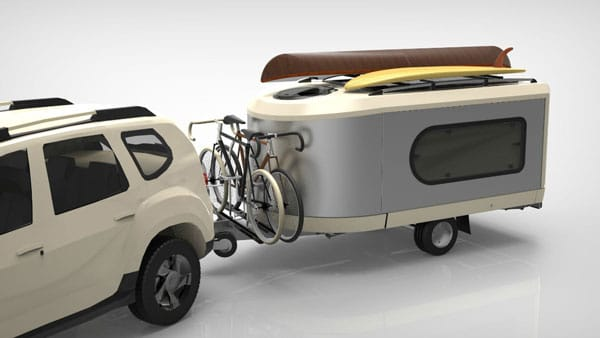 Tipoon the Travel Machine Moveable Travel Pod