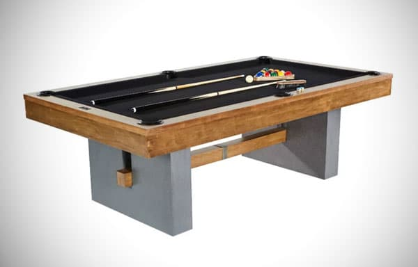 Urban 8' Pool Table with Accessories