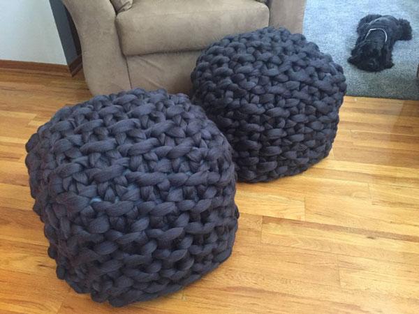Chunky Knit Merino Wool