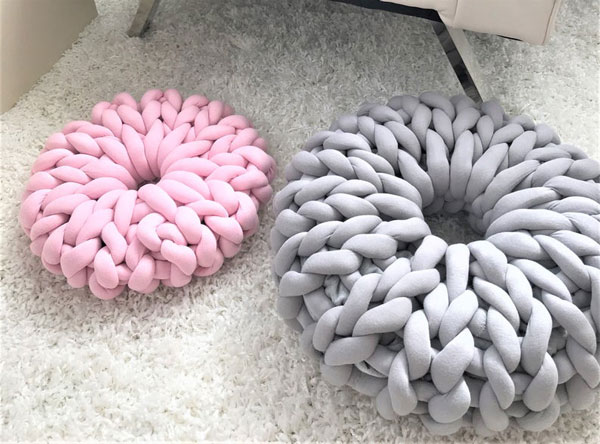 Donut Floor Pillows
