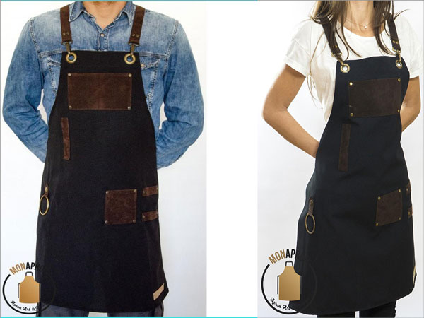 Heavy Duty Design Apron w/ Straps and Pockets