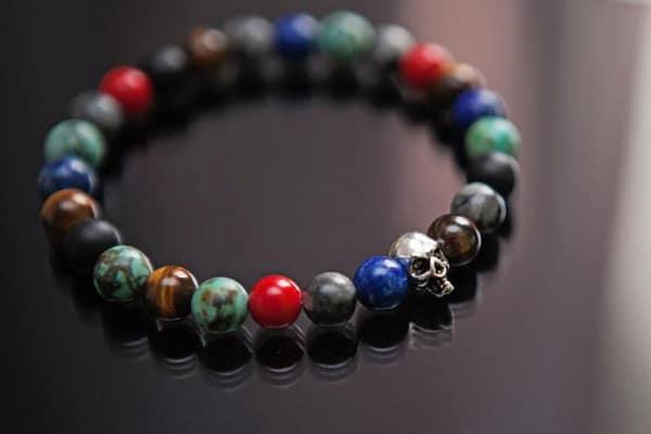 Skull Bead Bracelet - Gifts for Tattoo Artists
