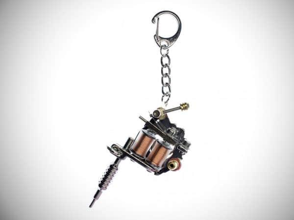 Tattoo Needle Key Ring