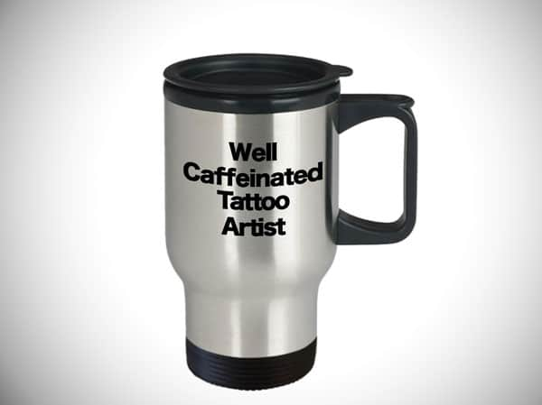 Tattooist Travel Coffee Cup