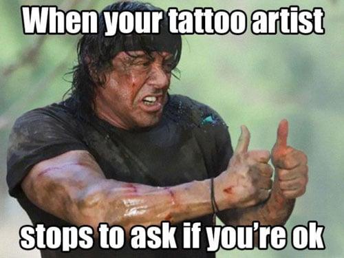 tattoo artist meme