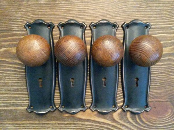 Antique Dummy Door Knobs
