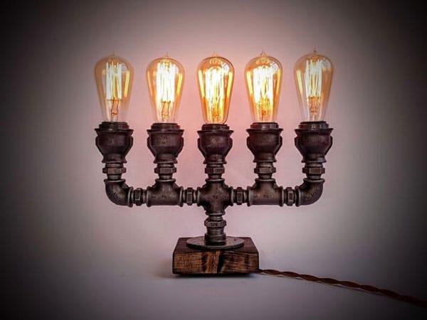 Candlestick Edison Lamp