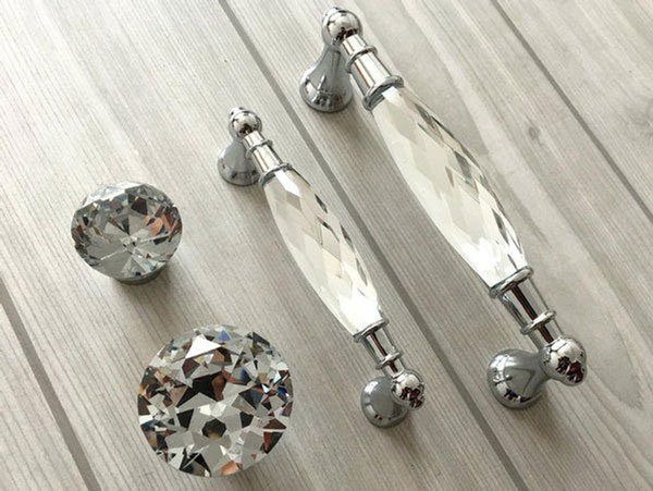 Crystal Drawer Pulls