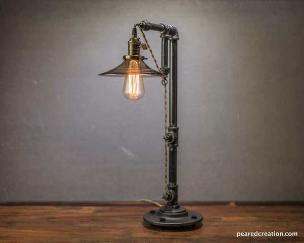 Industrial Edison Table Lamp