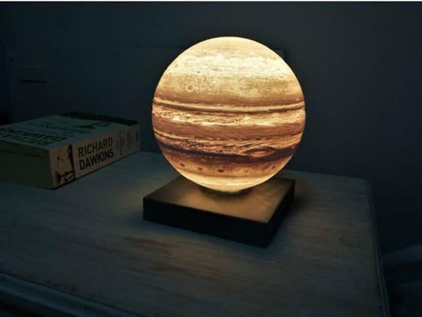 Jupiter Planet Night Lamp
