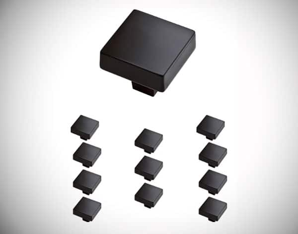 Soft Modern Square Knob Multipack