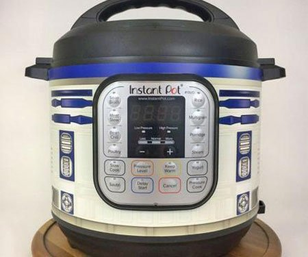 Star Wars R2-D2 Instant Pot Wrap