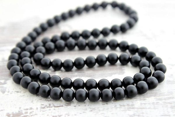 Black Onyx Men's Necklace
