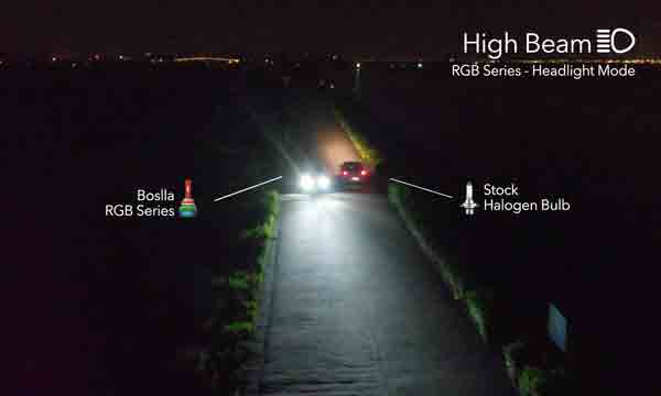 World's Brightest LED Headlight
