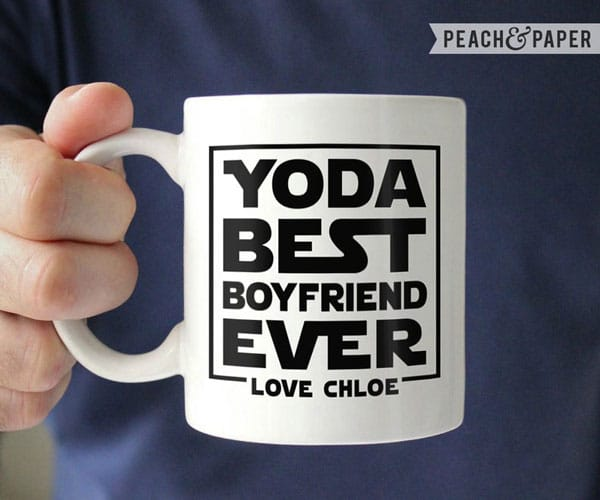 Yoda Best Boyfriend Ever Mug