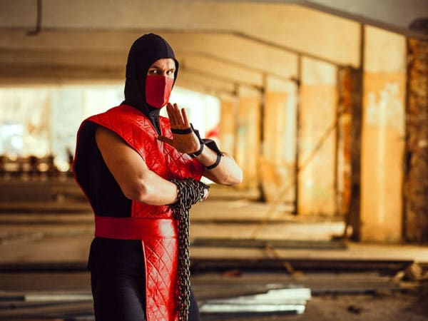 Ermac mortal kombat costumes for adults