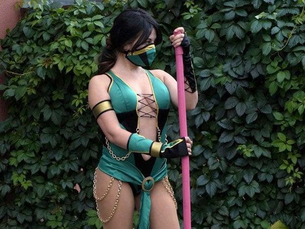 Jade mortal combat costume