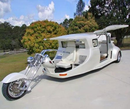 The LimoBike Harley Motorcycle Party Bus