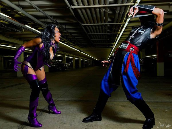 Sindel Mortal Kombat Costume