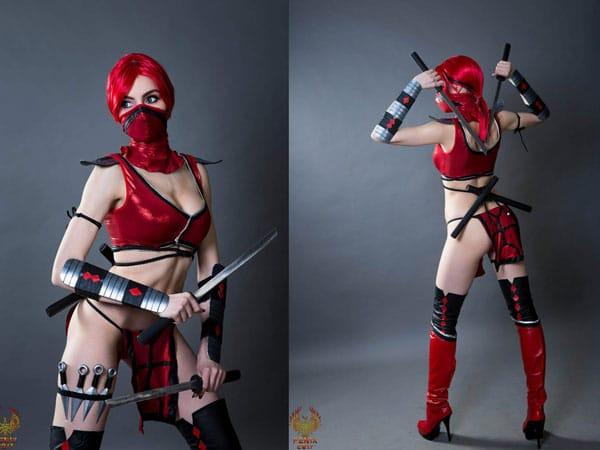 Skarlet Mortal Kombat Costume