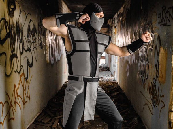 Smoke mortal kombat costume