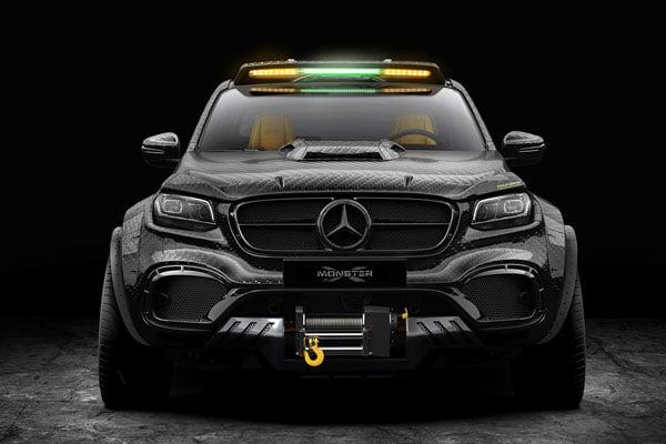 Mercedes-Benz X-Class EXY 6×6